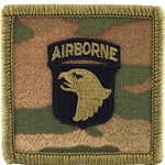 1 New Airborne Beret Flashes  and  Background Trimmings (Ovals)
