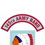 145th Army Band Tab, A-1-1129