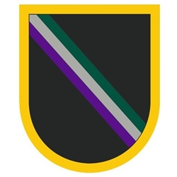 Special Warfare Noncommissioned Officer Academy, A-4-294 / A-6-321