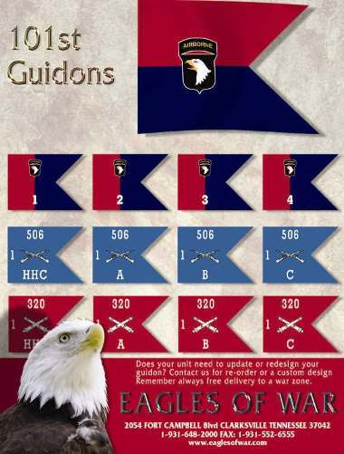 Flags, Guidons and Streamers