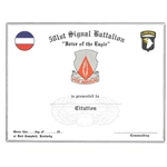 "501st Signal Battalion, ""Voice of the Eagle"""