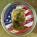 Challenge Coin, President of the United States (POTUS), Donald J. Trump, Type 6