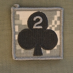Helmet Patch, 2nd Battalion, 327th Infantry Regiment, ACU