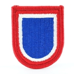 Beret Flash, Headquarters, 82nd Airborne Division, Merrowed Edge