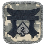 Helmet Patch, 187th Infantry Regiment MultiCam® Type 2