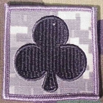Helmet Patch, 327th Infantry Regiment, ACU