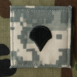 Rank,E4 Specialist (SPC), ACU with Velcro®